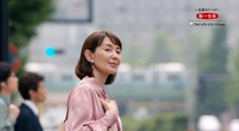 【小宮山ミホ】第一生命保険CMに出演!